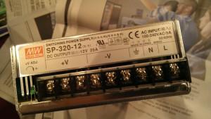 12 V Power supply