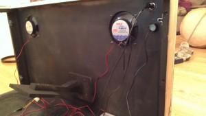 Inside view of Speaker