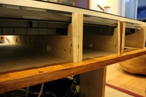 Mar Resistant acrylic just milometers above the TV bezel