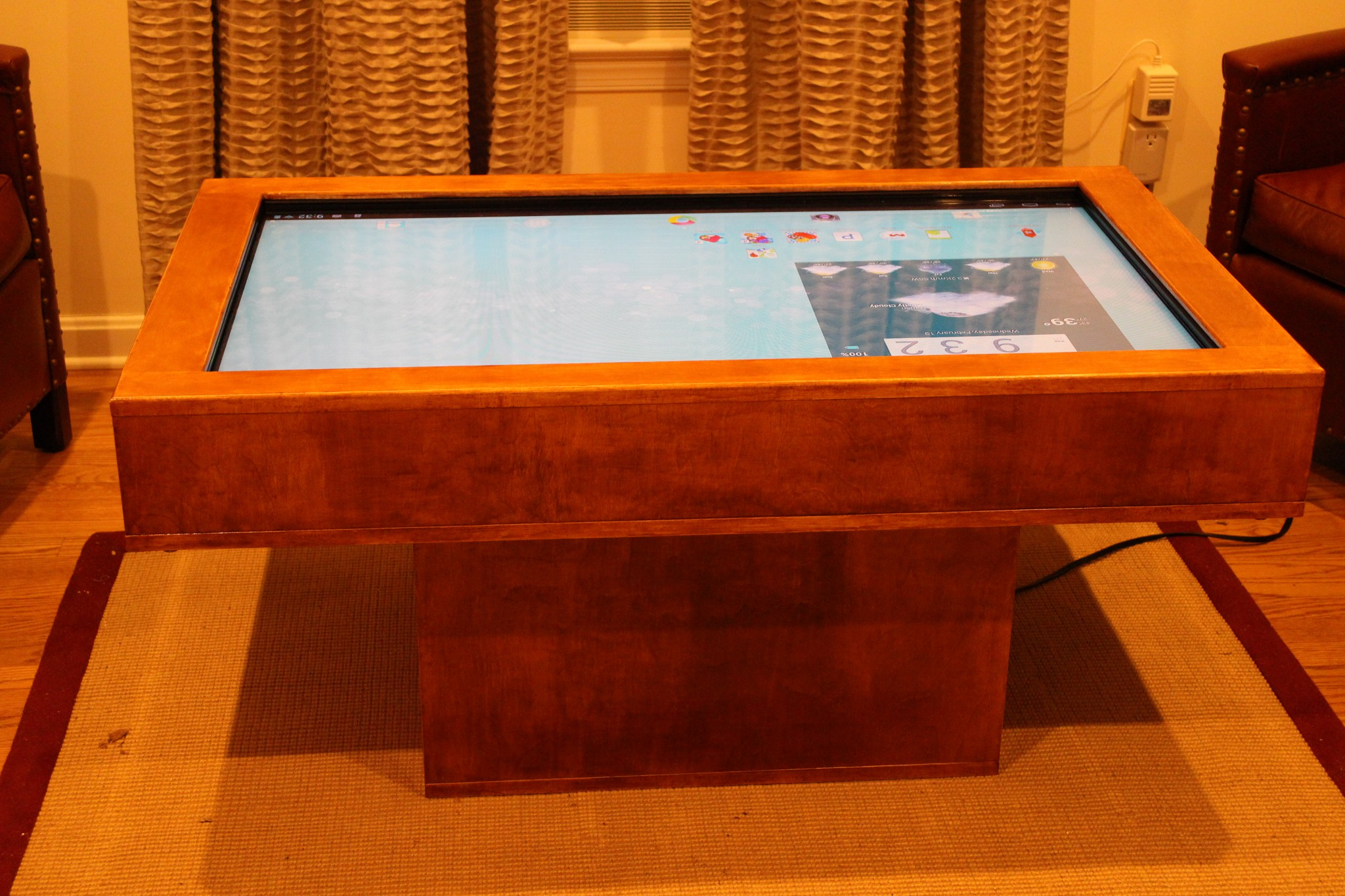 Touch Screen Coffee Table 2 0 – Automated Maker